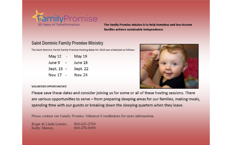 come and learn about Family Promise!