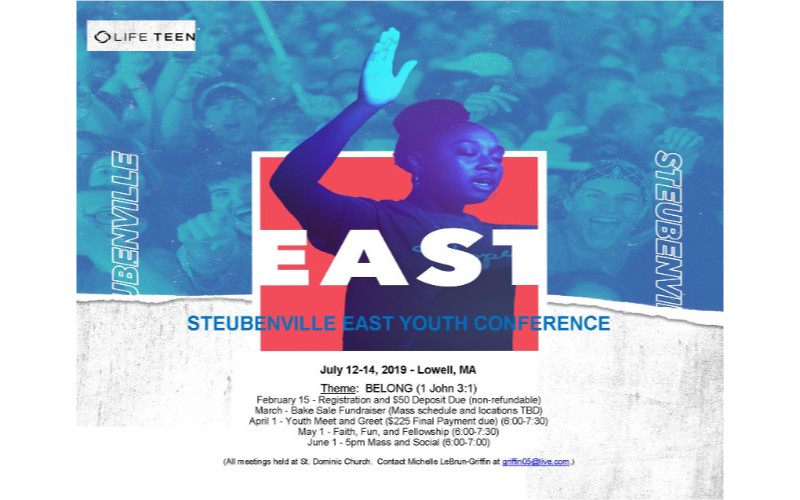STEUBENVILLE EAST YOUTH CONFERENCE